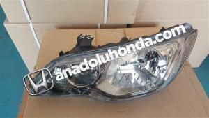 HONDA CİVİC SOL FAR 2006,2007,2008,2009,  ANADOLU